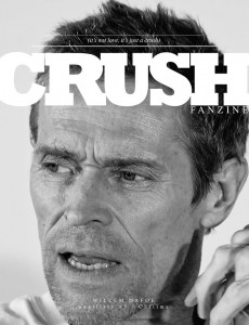 CRUSHfanzine CFfilms Willem Dafoe by Fe Pinheiro