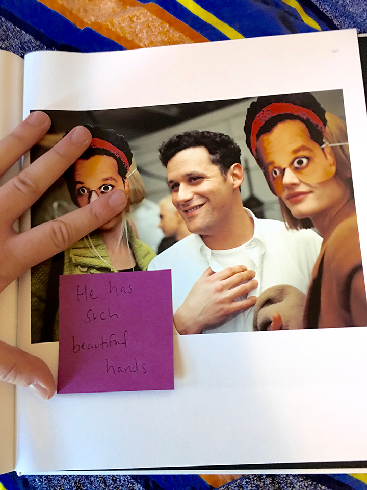 crushfanzine-william simmons- isaac mizrahi pictures-nick waplington 1