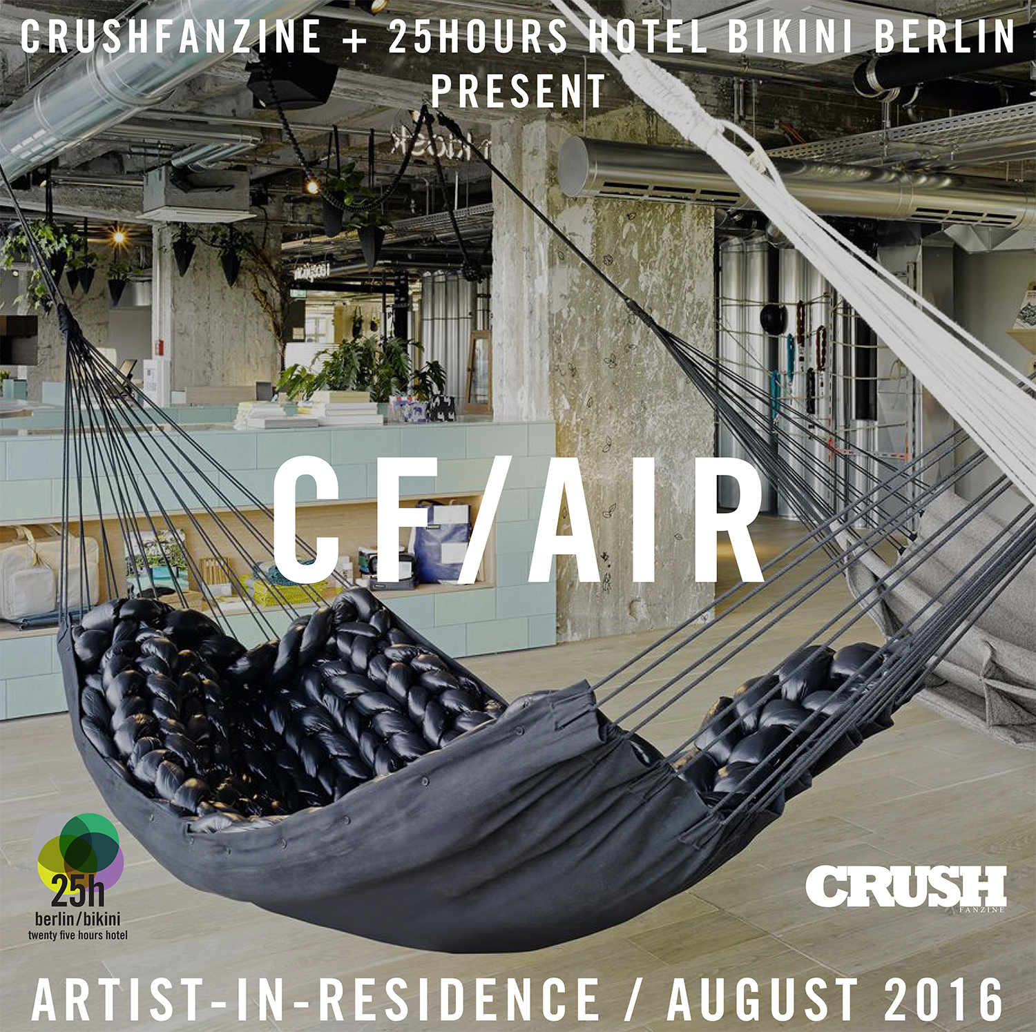 pay attention crushfanzine 25hours hotel bikini berlin artist in residence program cfair. Black Bedroom Furniture Sets. Home Design Ideas