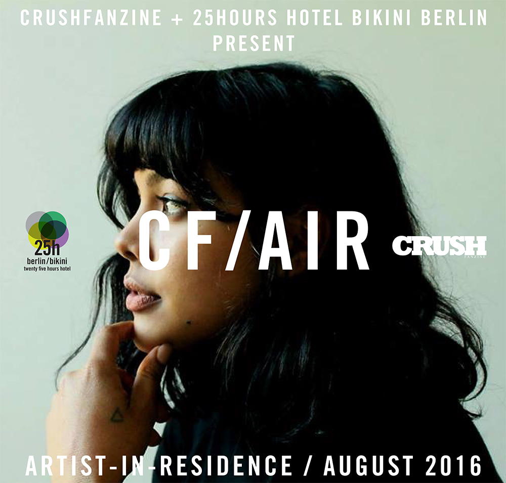 CF-AiR CRUSHfanzine - 25hours Hotel Bikini Berlin