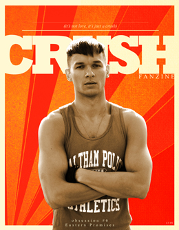 Crush Fanzine Issue #6 Cover