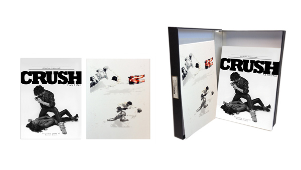 CRUSHfanzine CFLAB COLLECTORS EDITION AUX EDITION 2 SECRET CRUSH KARINE LAVAL PRINT