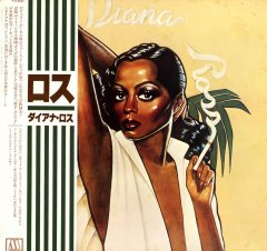 CRUSHfanzine CFLab Diana Ross 1978 Japan LP w obi