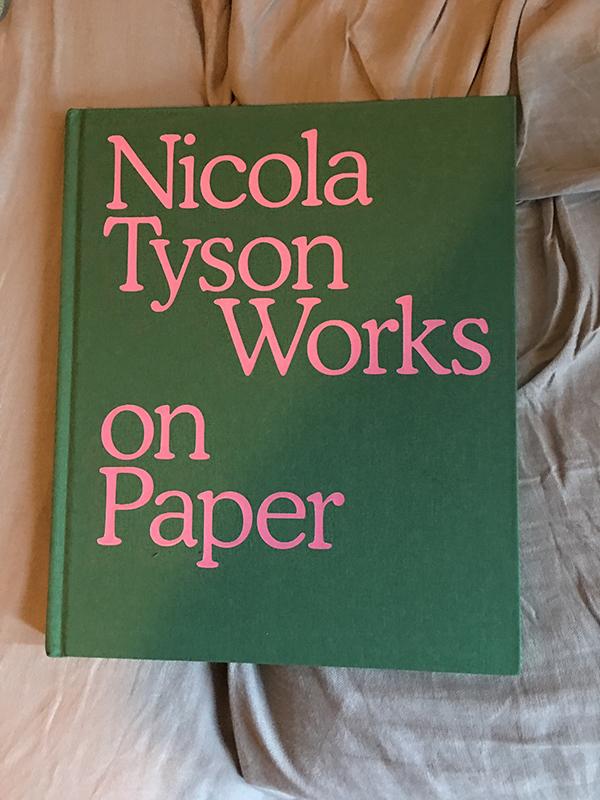 crushfanzine nicola tyson works on paper review 1